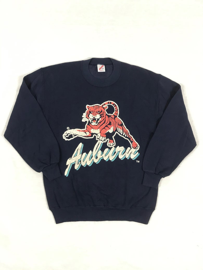 Image of Vintage 90s Auburn Tigers Crew L (Pre-Owned)
