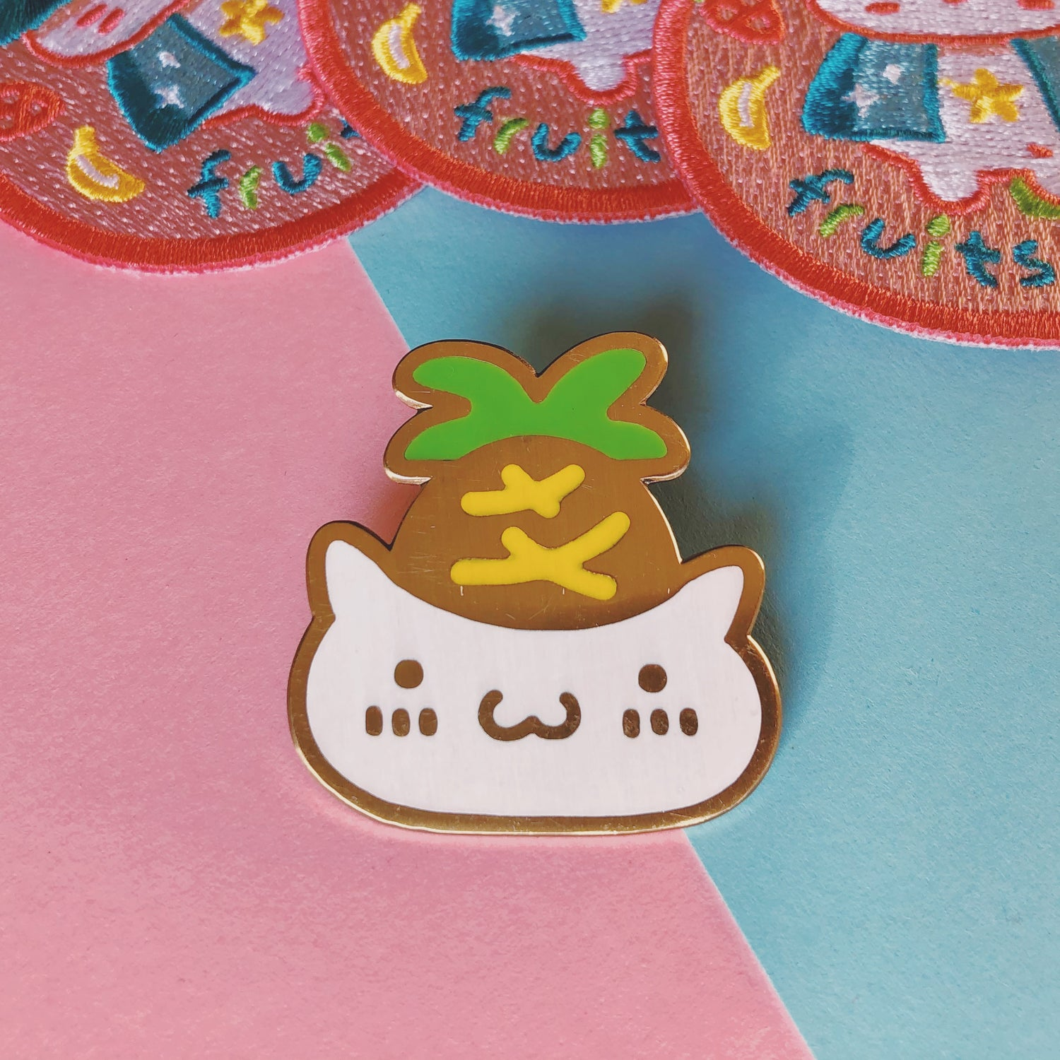 Image of SON OF FRUITS WIZARD PIN