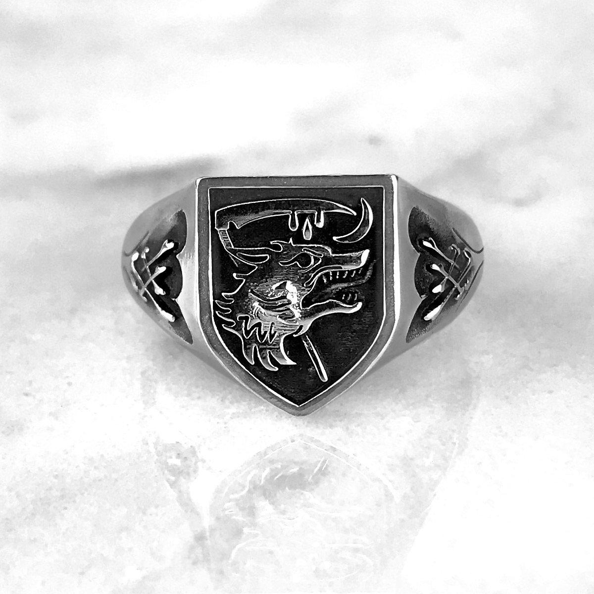 Image of Nachzehrer Patrol Signet Ring SM