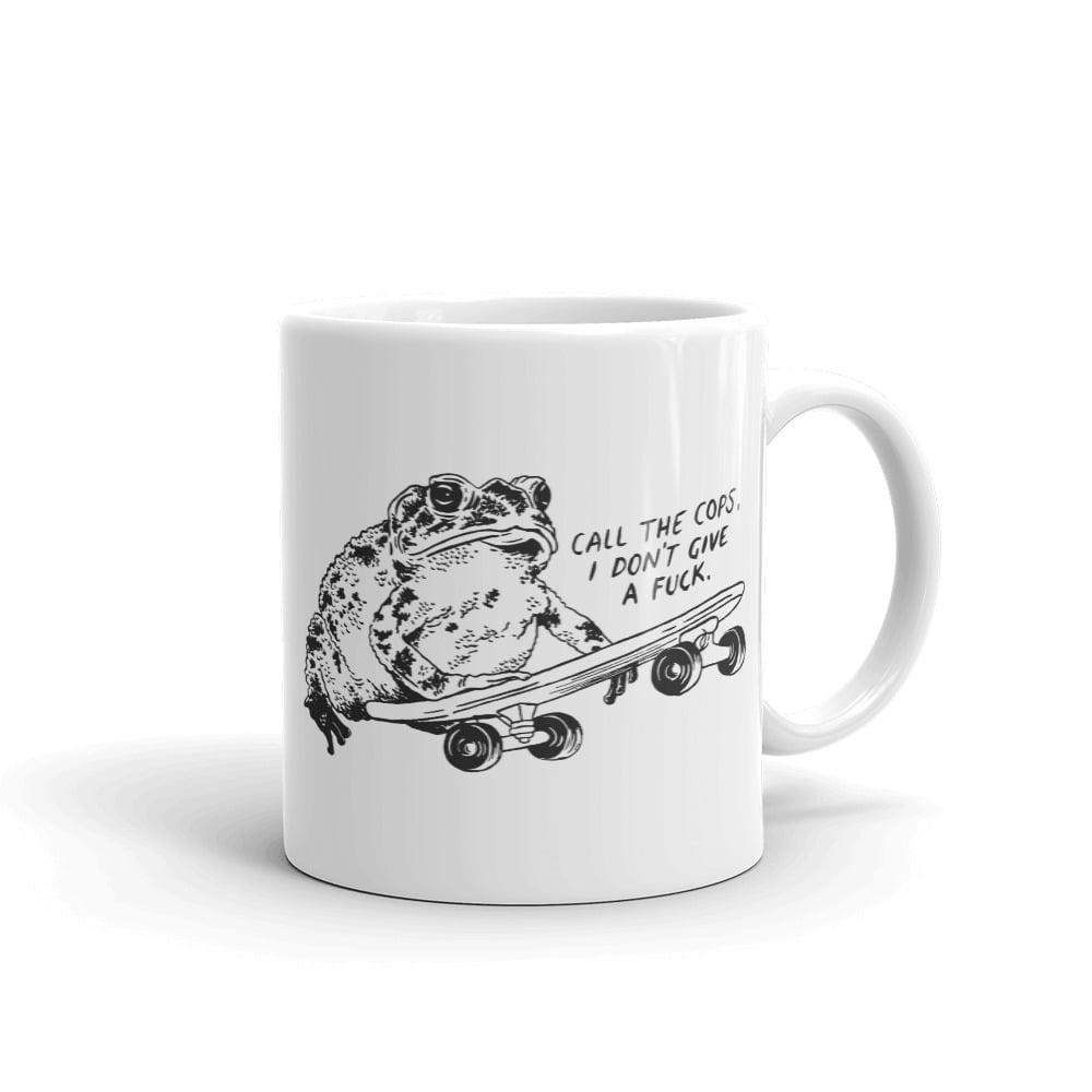Image of IDGAF Frog Mug
