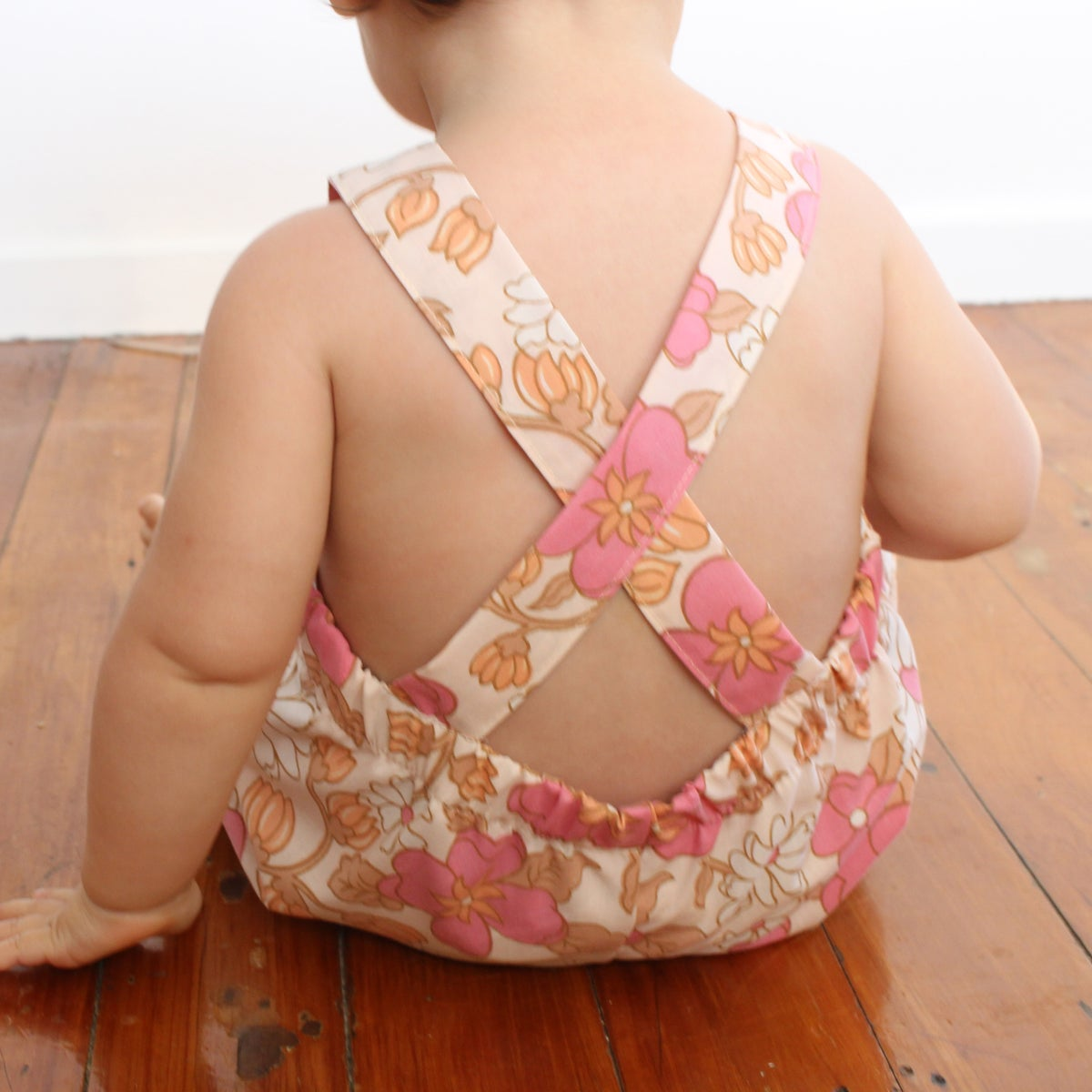 Image of Shorty Overalls - Pretty in Pink