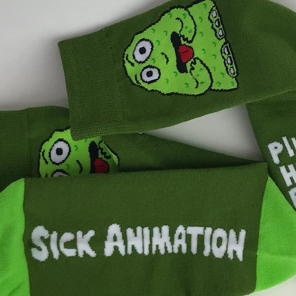 Hungry for shit socks - Sick Animation Shop