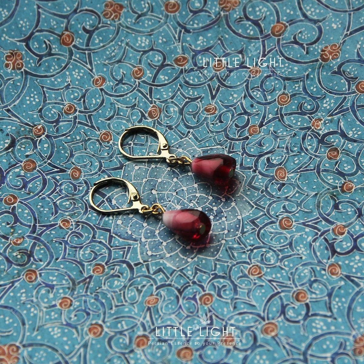 Image of Pomegranate earrings