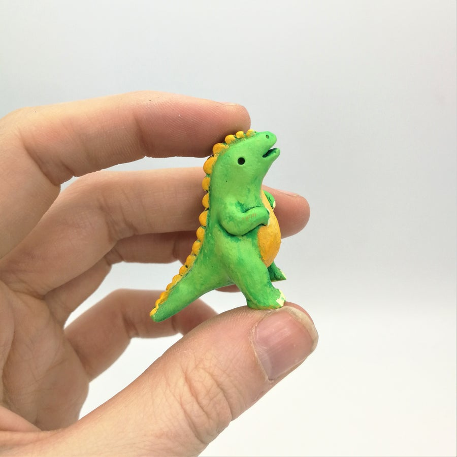 Image of Teenyzilla. The tiniest Kaiju!