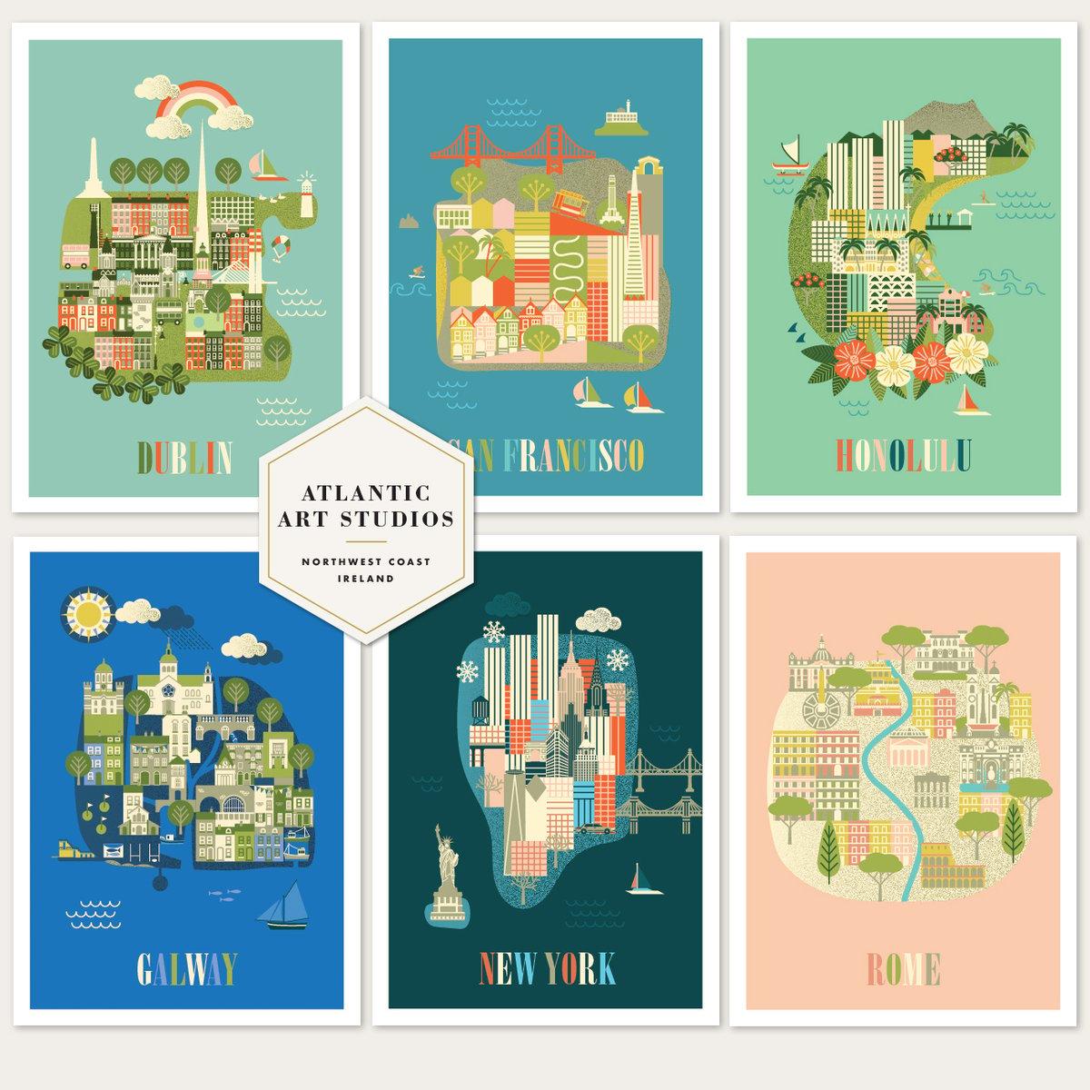Image of City Art Prints