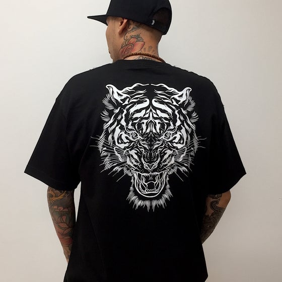 Image of TIGER STYLE (BLACK T SHIRT)