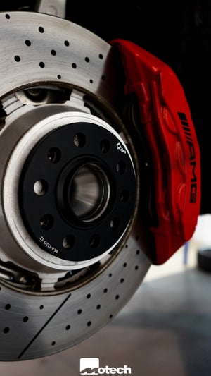 Image of Mercedes Wheel Spacers (Bolts & Lockers Incl.)