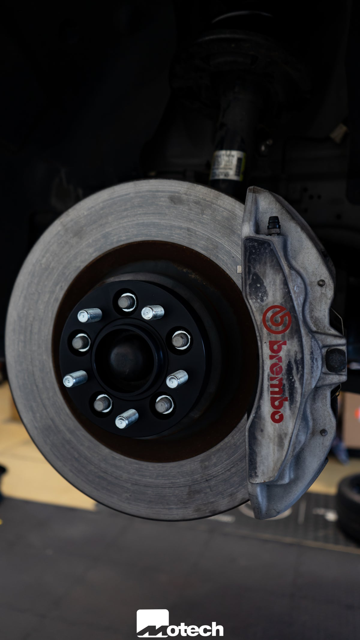 Image of Ford Mustang Eibach 25mm Wheel Spacers
