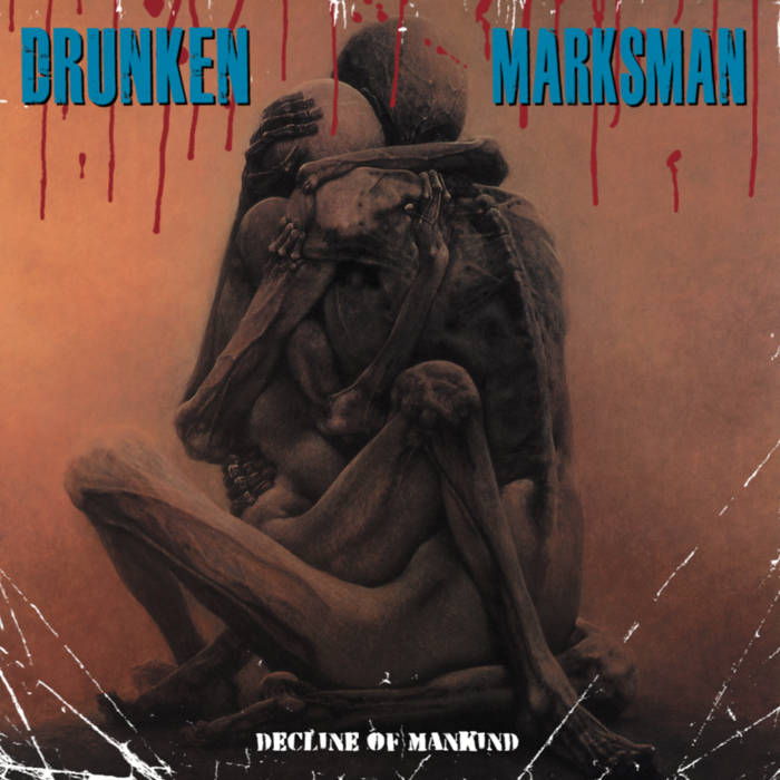 Image of DRUNKEN MARKSMAN - DECLINE OF MANKIND LP