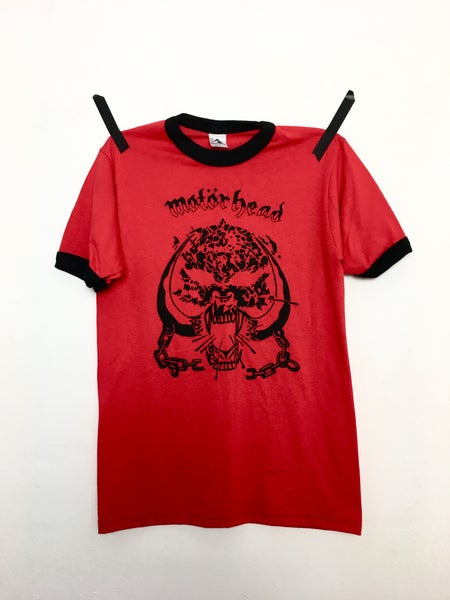 Image of XL AND UP - MOTORHEAD RED