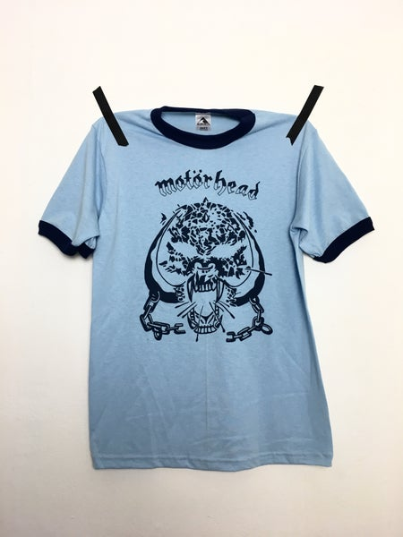 Image of S/XL/2XL/3XL - MOTORHEAD BLUE