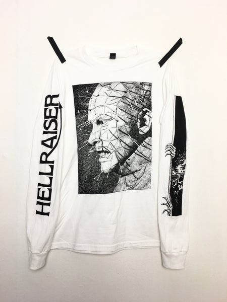 Image of XS/S - HELLRAISER *WHITE*