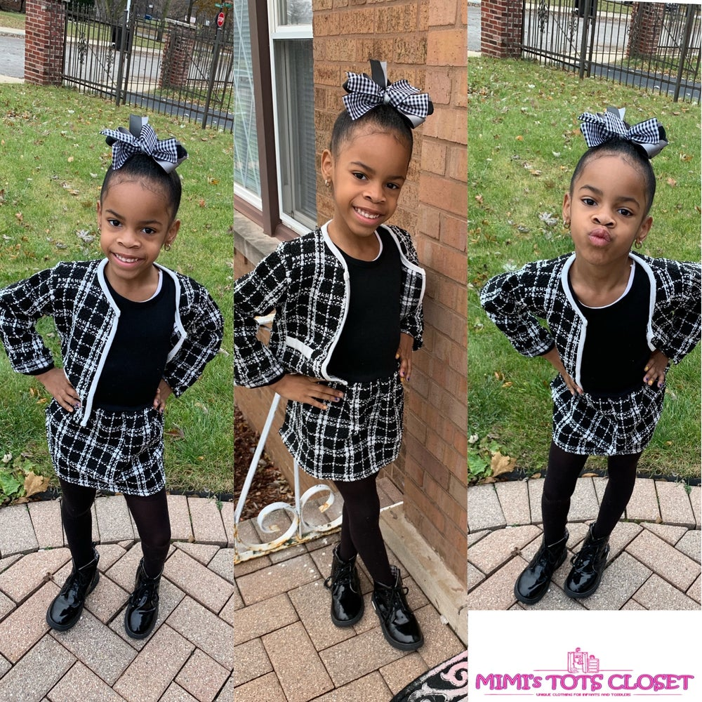 Image of Clueless girl 2pc dress set