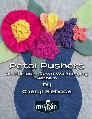Image of Petal Pushers Heirloom Wallhanging Book