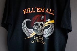 Image of 1986 Kill 'Em All Vintage Shirt