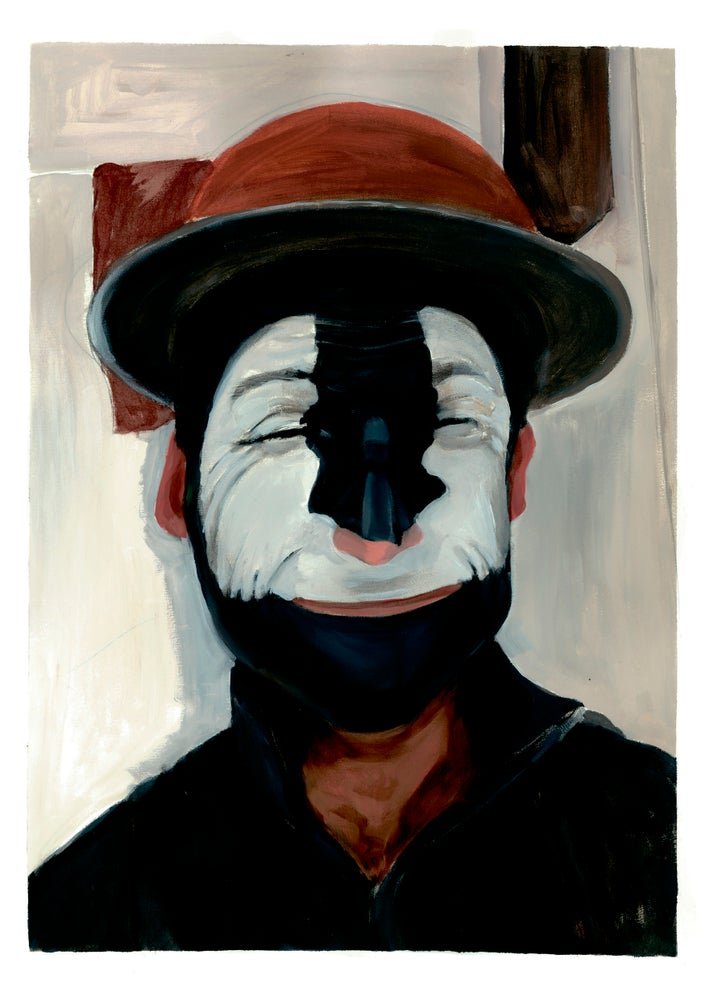 Image of Clown - Art-Card