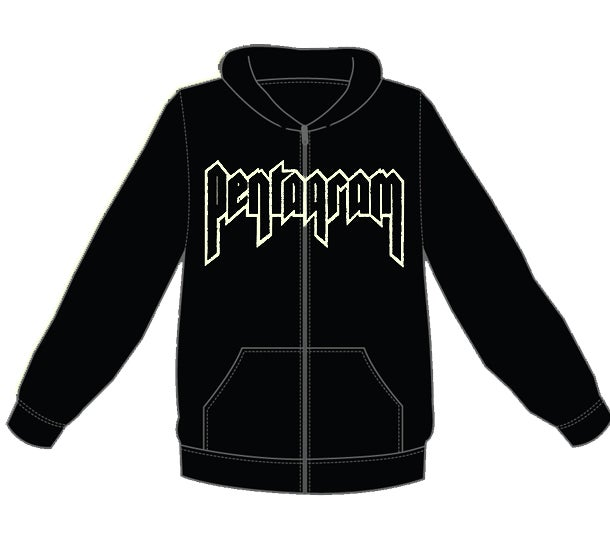 Image of Zipper Hoodie - Logo design