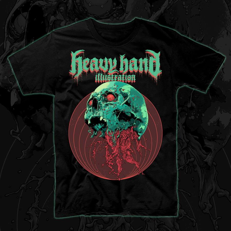 Image of Skull Full Of Blood T-Shirt