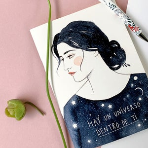 Image of Cuaderno UN UNIVERSO DENTRO