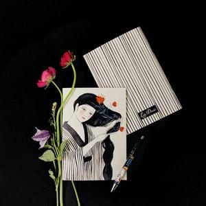 Image of Cuaderno GEISHA PEINÁNDOSE