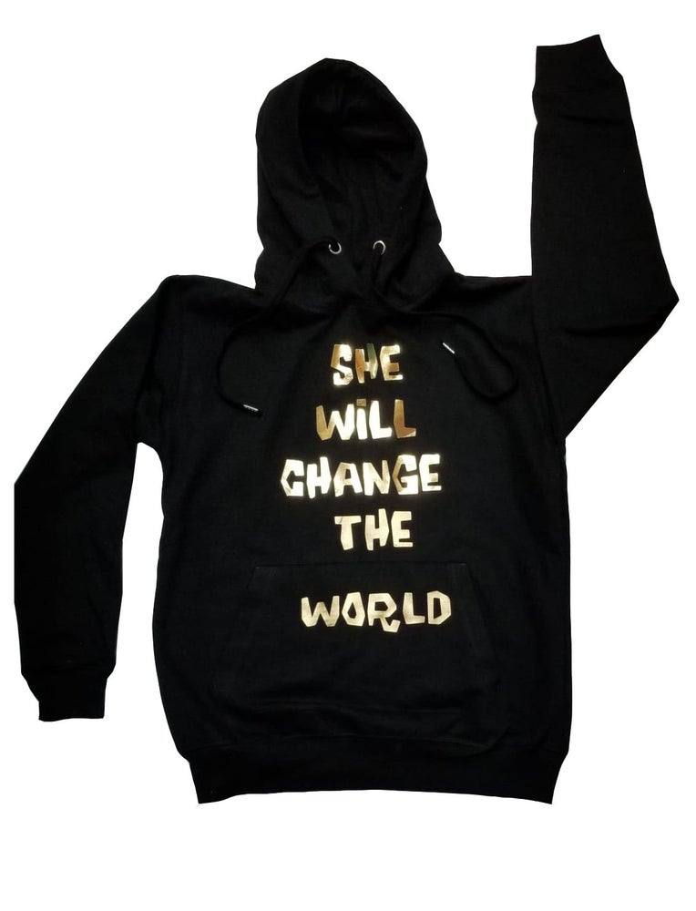 Image of She will change