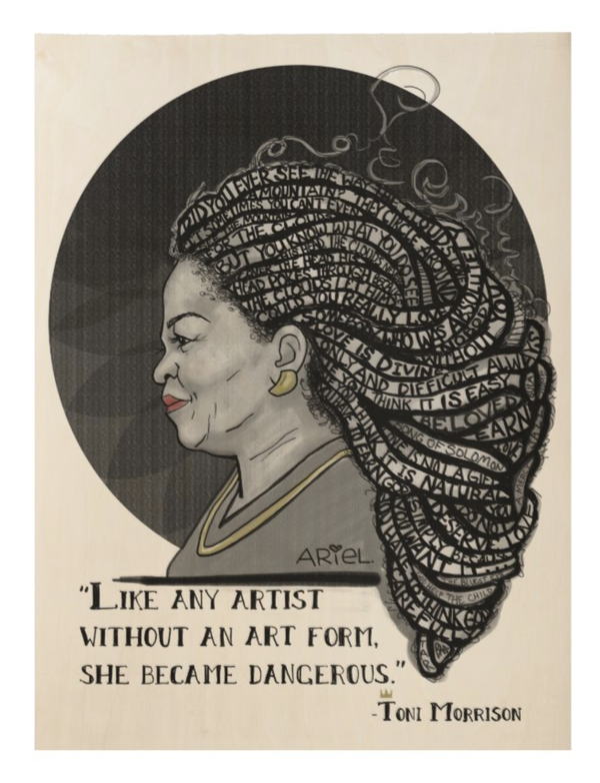 Image of Toni Morrison Print