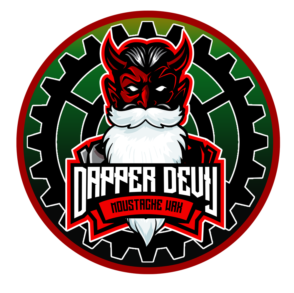 Image of Limited Edition Christmas Gingerbread Man Dapper Devil Moustache Wax 20ML *Including Postage*