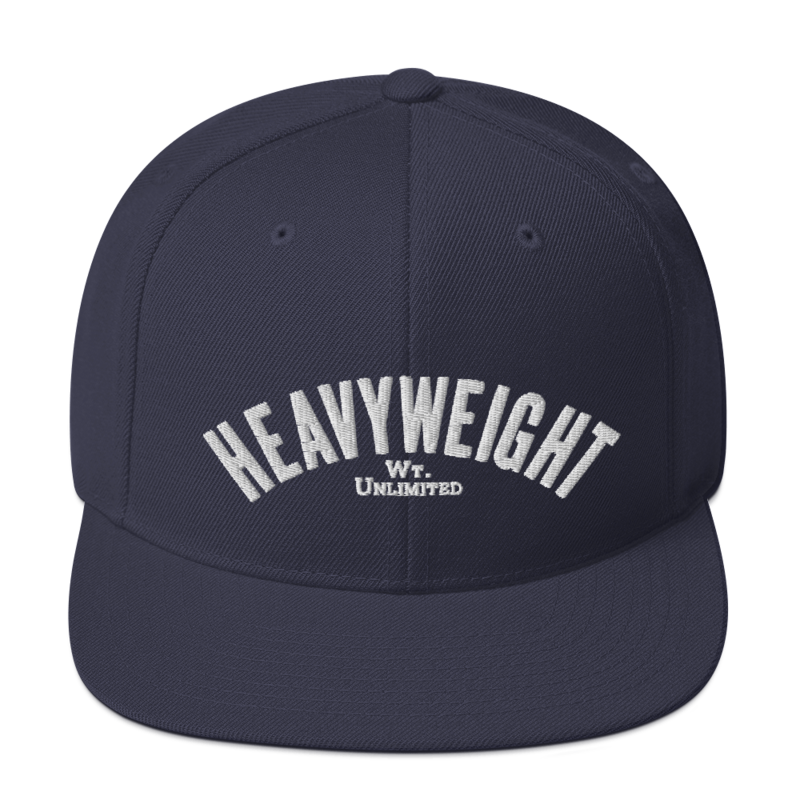 Image of Weight Class Snapbacks by Boxing Aficionado™ - HEAVYWEIGHT (4 colors)
