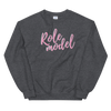 NEW ROLE MODEL SWEATER!!