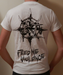 Image of White Logo - Feed Me Violence T-Shirt