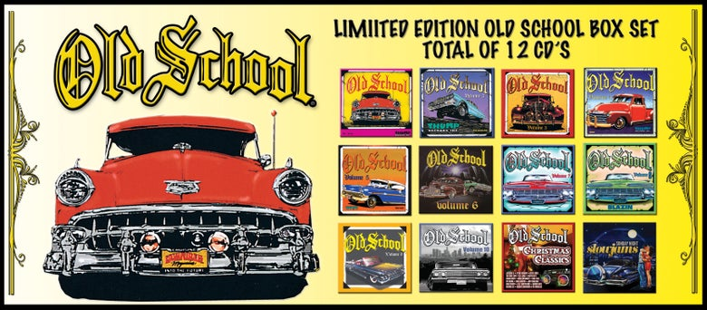 Image of OLD SCHOOL 12CD BOX SET