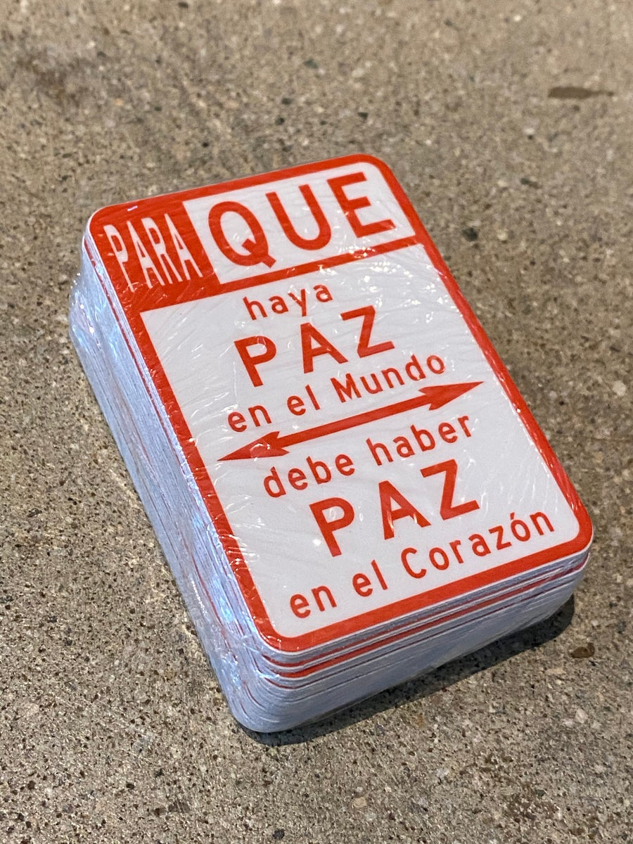 Image of Pack of 50 Para Que Stickers