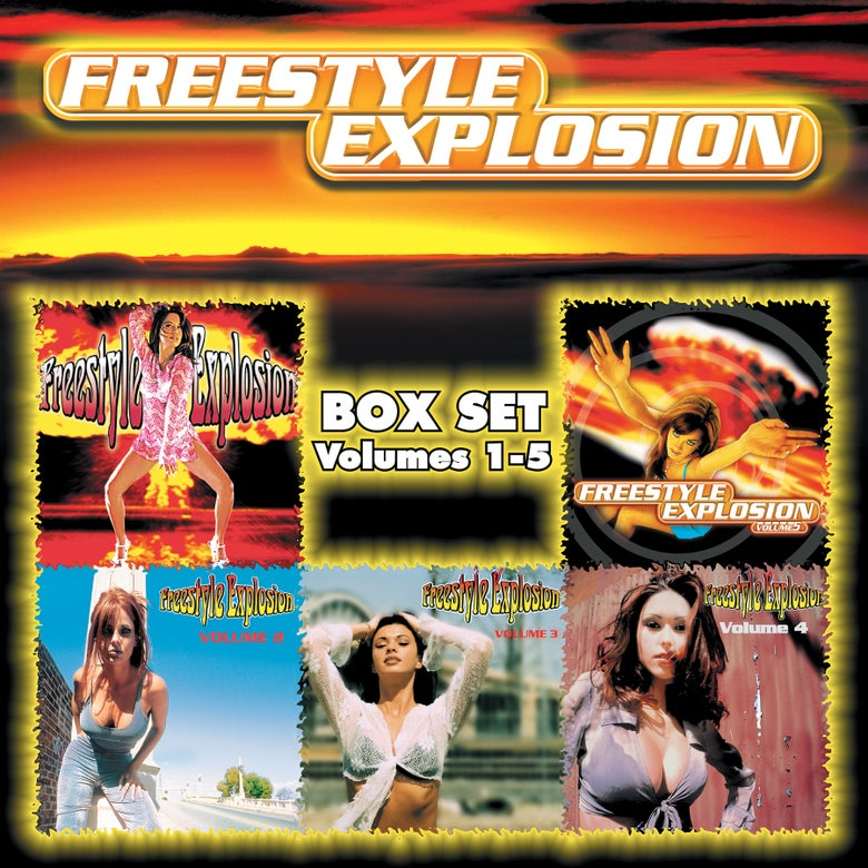 Image of Freestyle Explosion Box Set (5 CD Set)