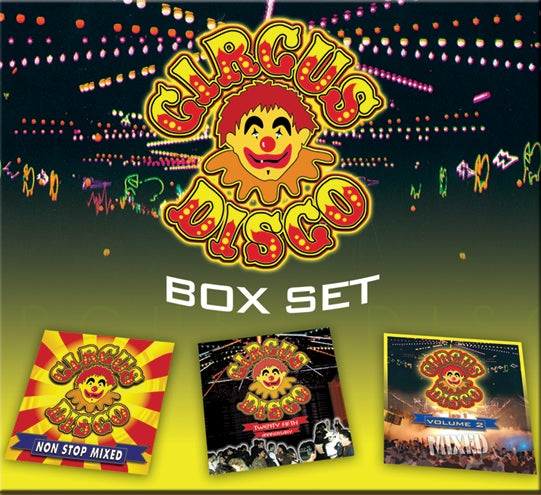 Image of Circus Disco Box Set (3 Cd Set)