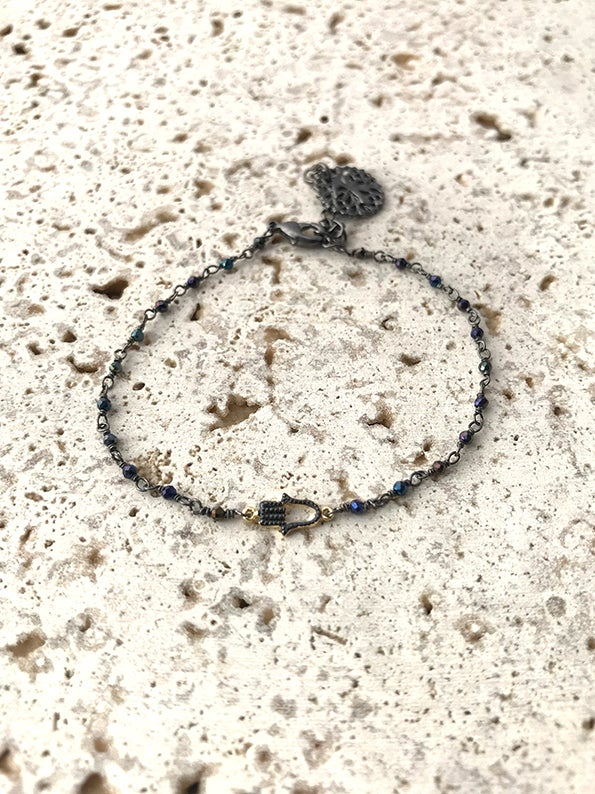 Image of Bracelet fin main de fatma MYSTIC