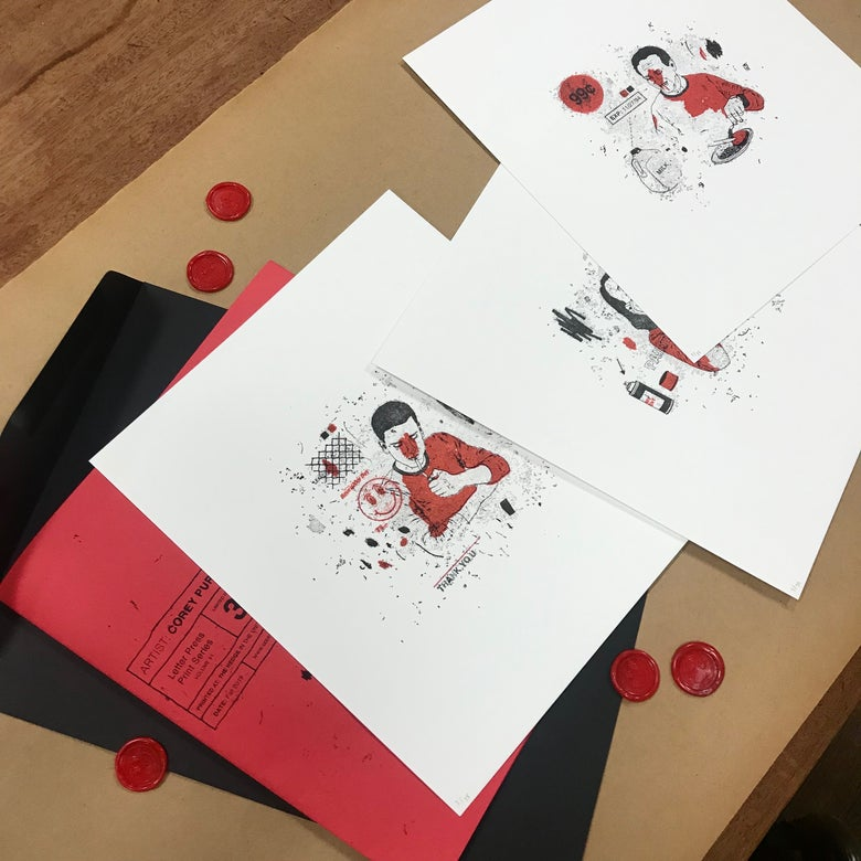 Image of Letter Press Print Series (Vol. 1)