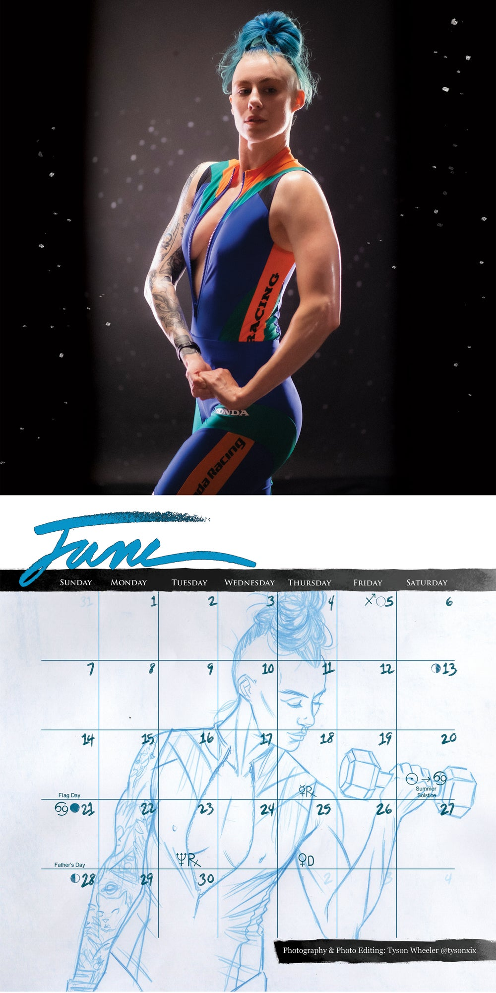 Official Danika XIX 2020 Calendar: Drawn to Life
