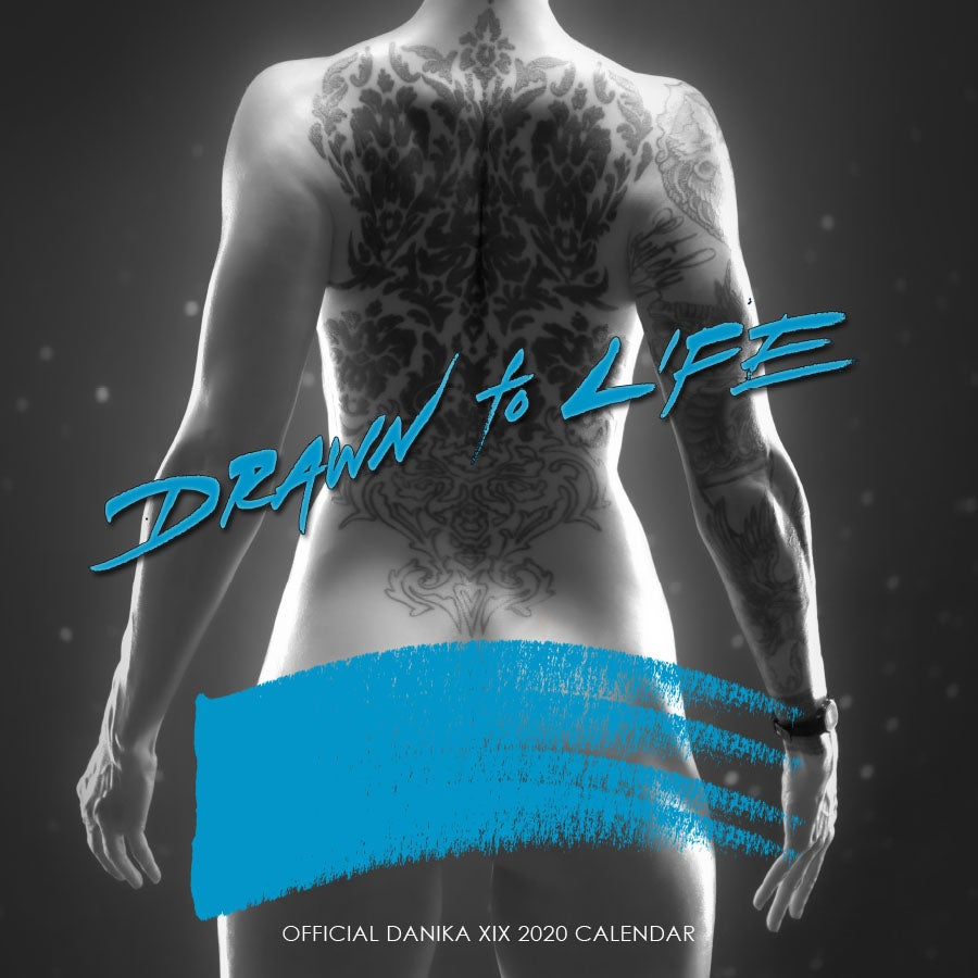 Image of Official Danika XIX 2020 Calendar: Drawn to Life