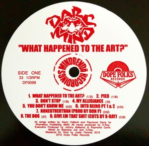 """Image of Darc Mind """"What Ever Happened To The Art"""" (PRE-ORDER)"""