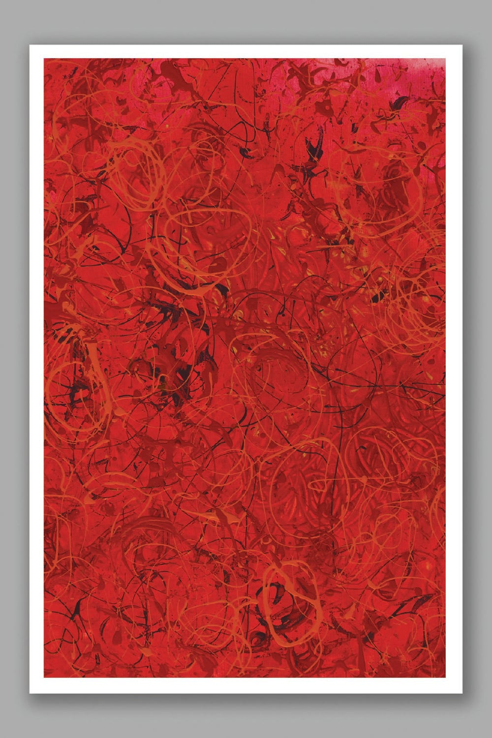 Image of Mess of Roses card