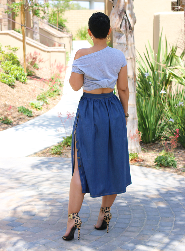 Image of PERFECT DENIM SKIRT VIDEO TUTORIAL