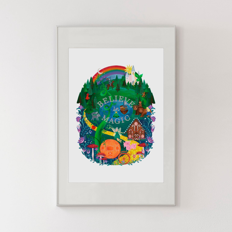 Image of Believe in Magic Print