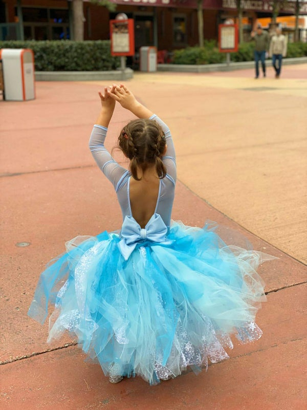 Image of Frozen Ice Princess Midi Length Tutu