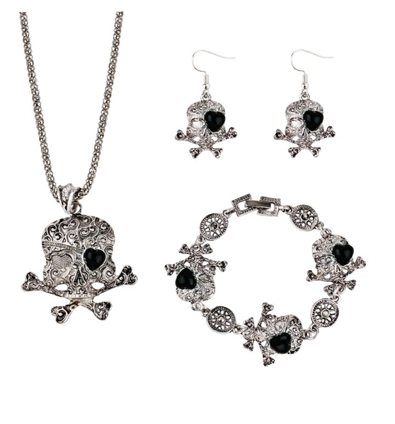 Image of Skull set 3pc.