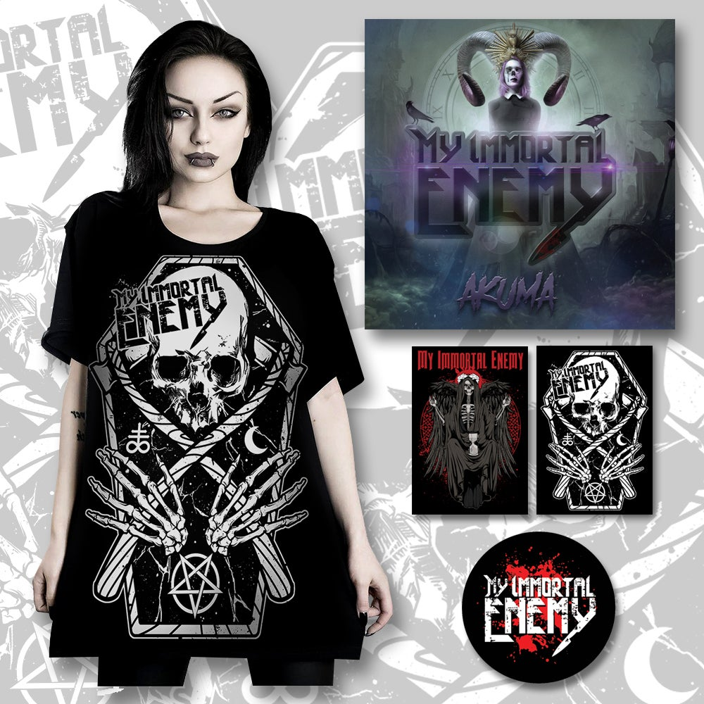 Image of BUNDLE PACK - SHIRT/ALBUM/& MORE!