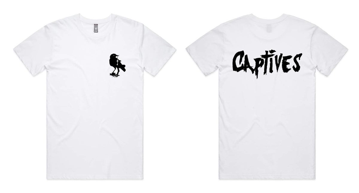 Image of Captives Classic Crow Tee (White)