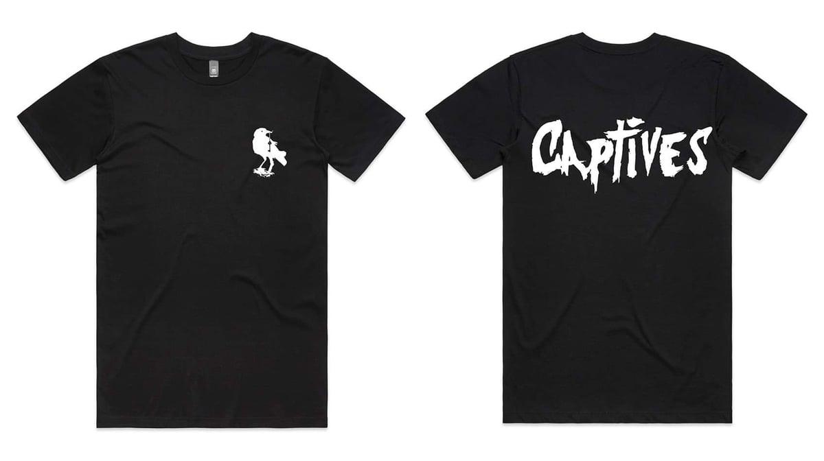 Image of Captives Classic Crow Tee (Black)