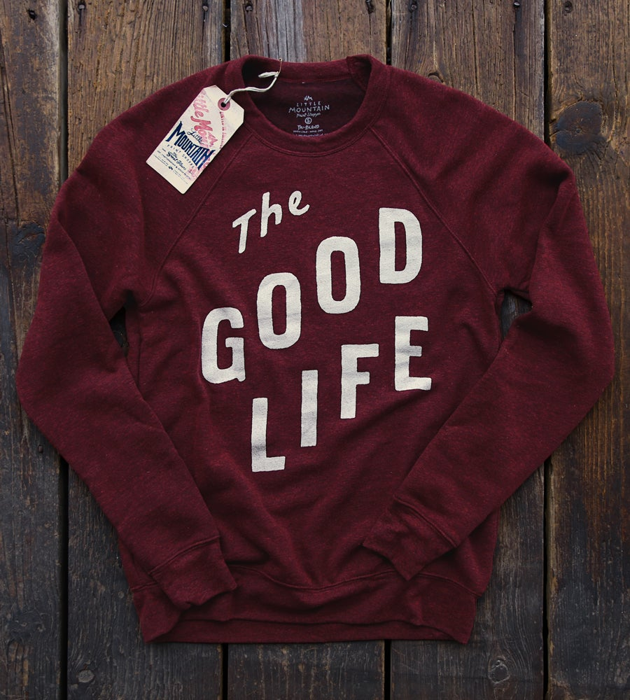 Image of Good Life Sweater | Cardinal