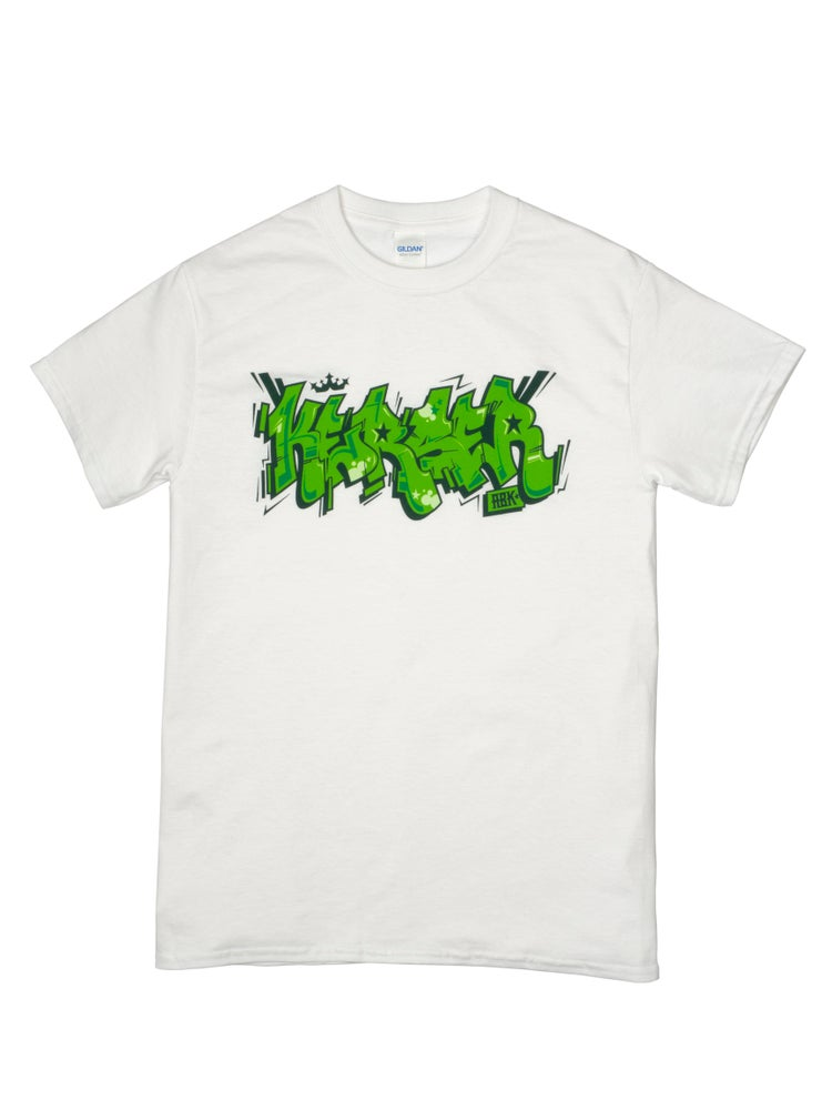Image of Kerser Graff Tee White