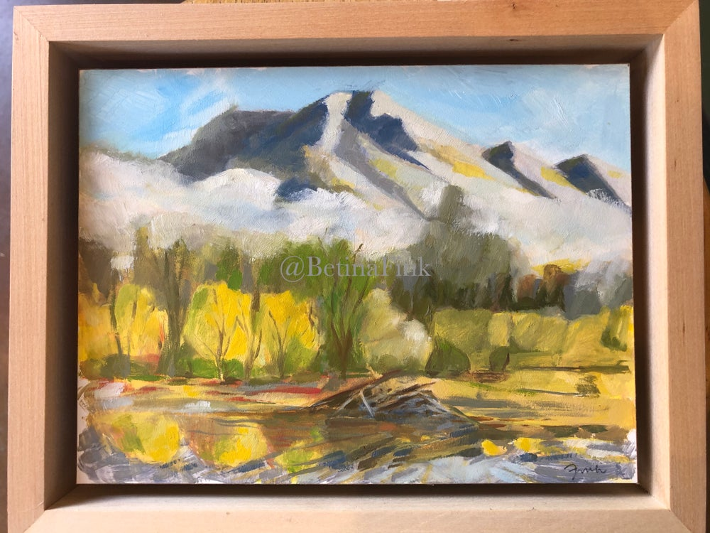"Image of ""Beaver Pond"" Plein Air"